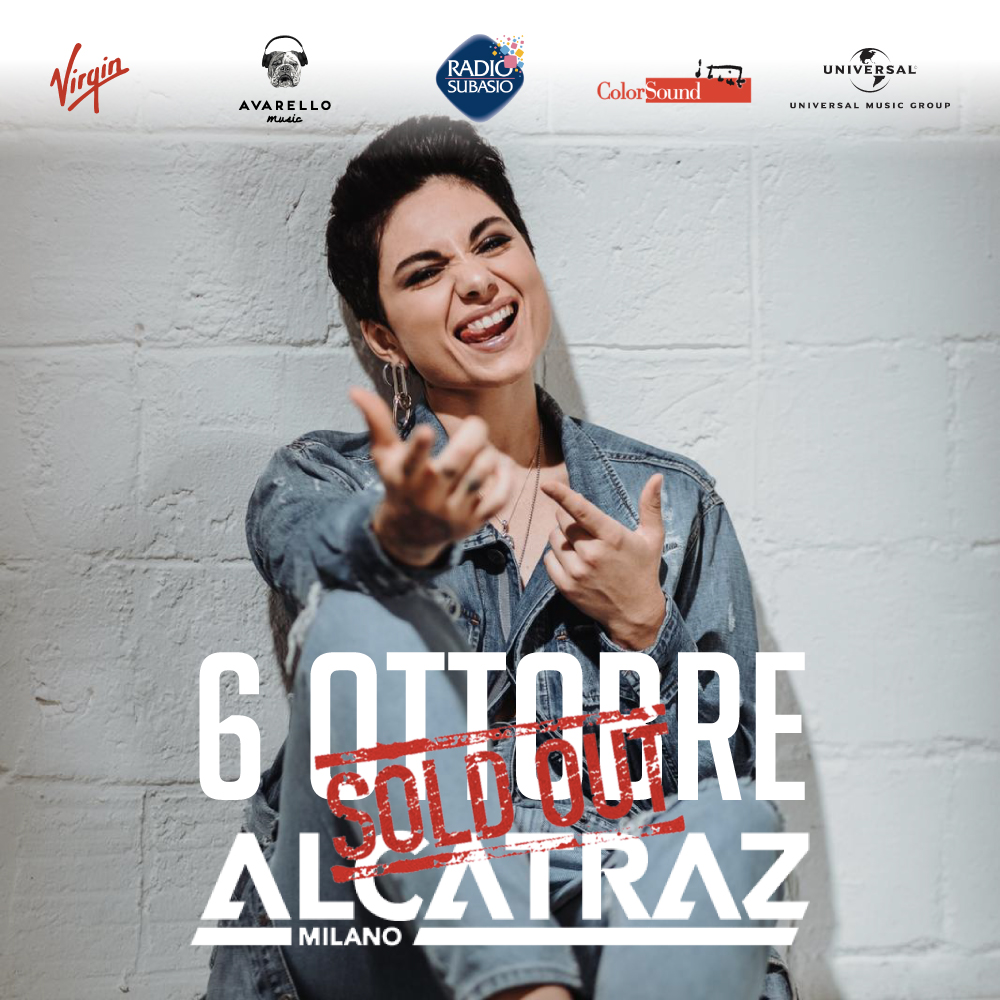 sold out alcatraz milano giordana angi